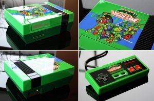 custom TMNT 2 the arcade game NES by Zoki64