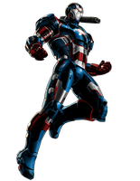 Marvel Avengers Alliance War Machine Iron Patr by ratatrampa87