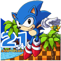 Sonic the Hedgehog 21st Anniversary by S-Dash
