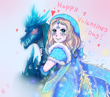 DotA 2 - Valentine's Day by Blue--Pineapple