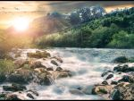 The River Manipulation by interesive