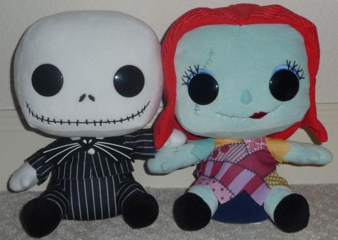 Jack And Sally by Sailor-girl1234