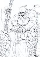 Verlaid, the White Executioner Sketch by DoctorZexxck