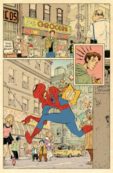 Spiderman Nightmare Commute p1 by sonny123
