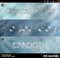 Glass Layer Styles by ML-Worlds