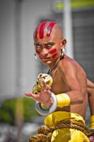 Dhalsim : Street Fighter by jeffreyhing