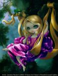 Rapunzel in The Swing by jasminetoad
