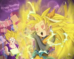 Dragon Ball - Gohan 77 - Happy birthday Jang Thanh by songohanart