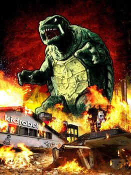 Gamera by ratcrtur