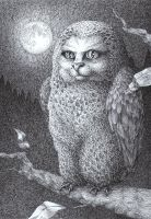 Weird owlcat by MadLittleClown