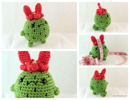 Prickle-Bun - Amigurumi Plush by pocket-sushi