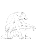 ArcticWoof Commission - 1 of 3 by KeksWolf