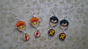KF and Robin Earrings by SugarTrip