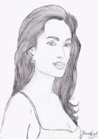 Angelina jolie by yarartist