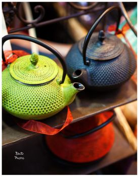 Tea Pots by bcdirector