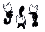Slender cats adopt *cheap* by ZonbiShy