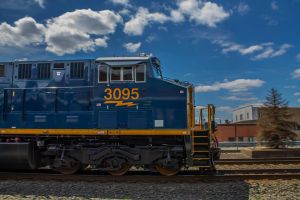 Train #3095 by gregpessphotography
