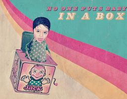Baby in a box new version by AbsurdWordPreferred