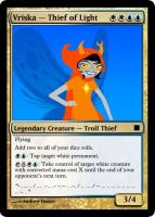 Magic: Vriska - Thief of Light by cybernerd129