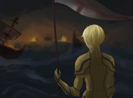 APH - battle of gravelines by innes-chan
