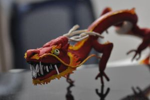 Red Chinese Dragon by Angelpedia