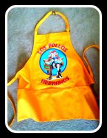 My BREAKING BAD Apron - Los Pollos Hermanos by Doctor-Pencil