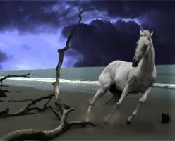 Spooked Horse by Fears-Manipulations