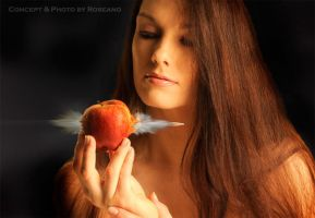 Girl, Apple and Bullet n.1 by Carnisch