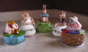 Beatrix Potter Cakes by DancesWithWacom