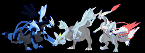 kyurem k black k white download UwU by javierini