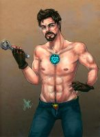 Stark Boy by Ame-Kunoichi