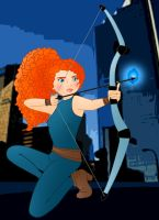 Disney Superheroes: Merida by Willemijn1991