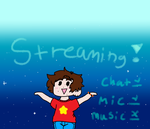 Streaming (offline) by iamtherainbow