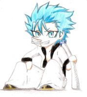 Grimmjow chibi color by Kariinn