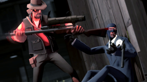 Spy Bash by guywiththesuitcase