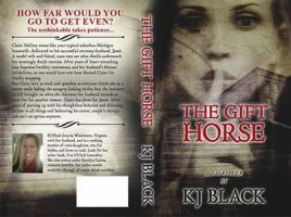 Book Cover Design ( The Gift Horse ) by FrinaArt