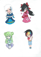 cute girls adopts (CLOSED!) by Bottle-Of-Stars