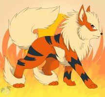 Arcanine-Entry 1 by Darkaiya