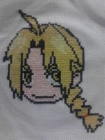Edward Elric Cross-Stitch by Angel-of-Alchemy-42