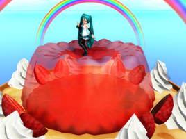 MMD jelly stage(14/07/2012 Update) by Keke-s-h