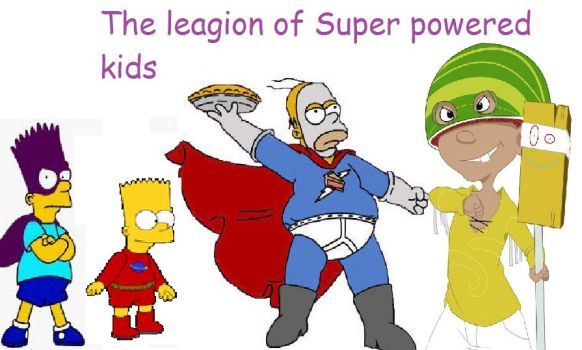 The legion of sper powered kids by deviant1290