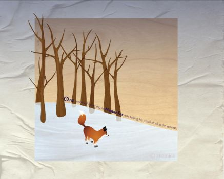 Fox and the Pheasants P1 by at0mica