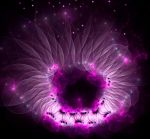 Purple Sea Anemone by eReSaW