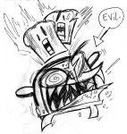 Evil Toaster by GagaMan