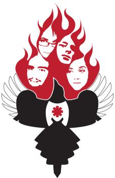 Magpies On Fire Logo by celestopoli92