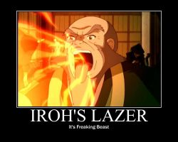 Iroh's Lazer by TheAwesomeMe96