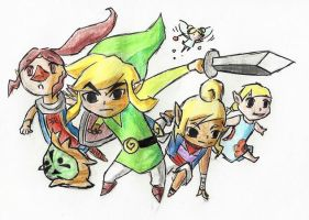 The Wind Waker by Zeliga