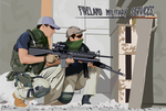Fireland military services by Aillese