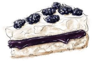 Blackberry Pavlova by torstan