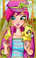 Winx Club Issue 3 Cover by NatalieSaly